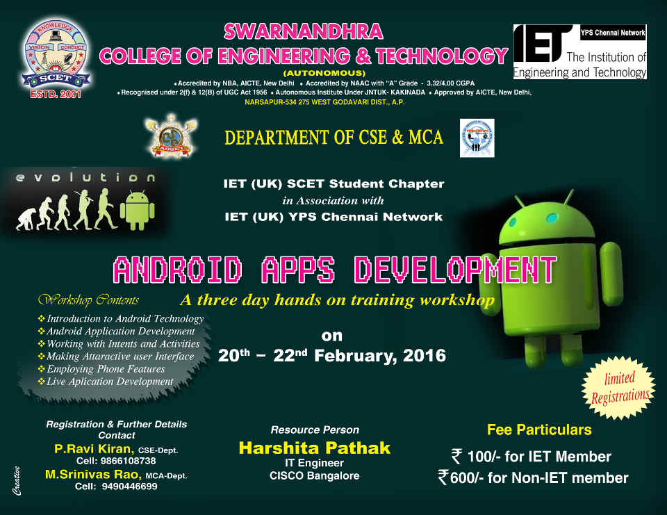 IET ANDROID WORKSHOP