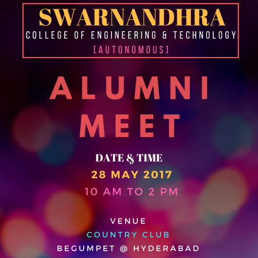 AlumniMeet Invitation